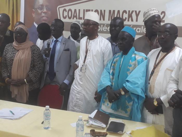 """Macky 2012: Moustapha Fall """"che"""" cède la place à Me Moussa Diop"""