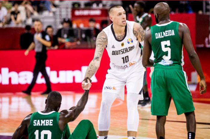 """Mondial basket / Match de classement : Les """"Lions"""" subissent un 4e revers (Sénégal 78- 89 Allemagne)"""