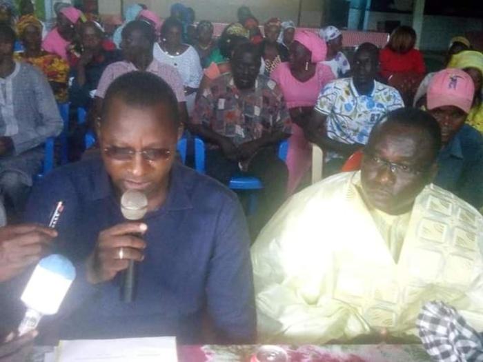 KÉDOUGOU : Les militants du PDS réaffirment leur soutien à Wade.