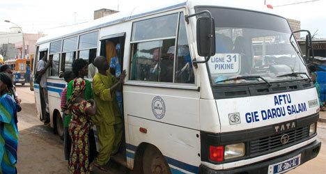 Grève des transporteurs: L'Association de financement des professionnels du transport urbain (AFTU) se démarque