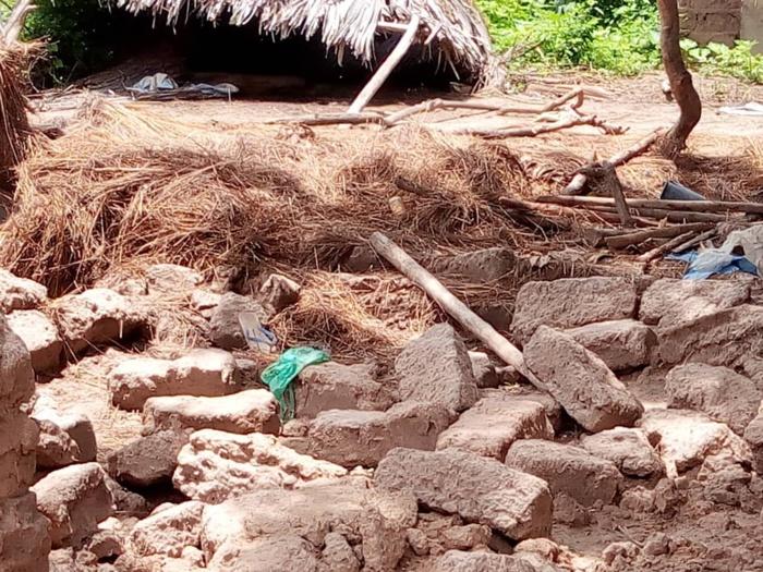 Fortes pluies à Taïba / Kaffrine : Des images qui font froid dans le dos