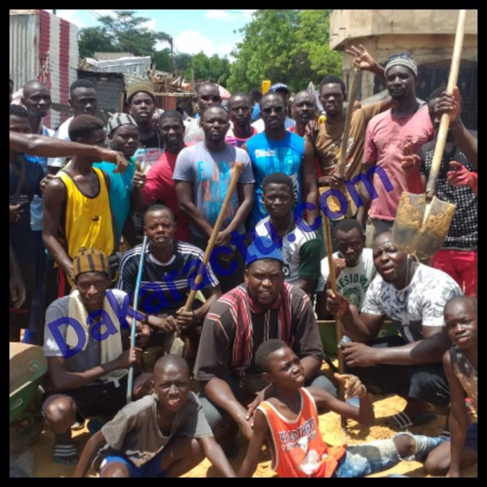 MBACKÉ / Le désastreux état du marché au poisson révolte les jeunes de l'Apem qui s'en prennent aux autorités