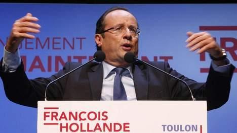 """Hollande prend """"60 engagements pour la France"""""""