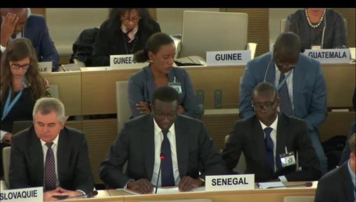 PLAIDOYER D'AMADOU BA À GENÈVE : « Les discours de haine menacent l'universalité des droits de l'homme »