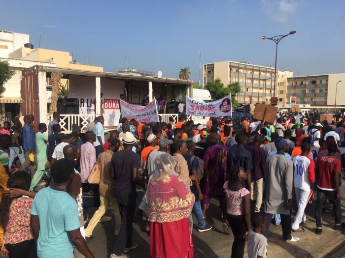 Marche Aar Linu Bokk : Timide mobilisation de la plateforme