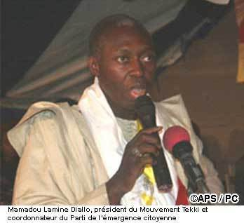 Tekki renonce à présenter Mamadou Lamine Diallo