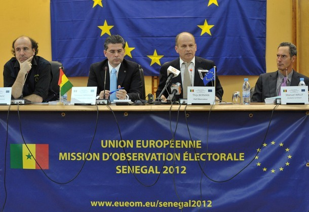 Surveillance serrée de la présidentielle de 2012 par les observateurs européens