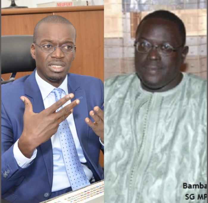 Réponse à Monsieur Bamba NDIAYE,