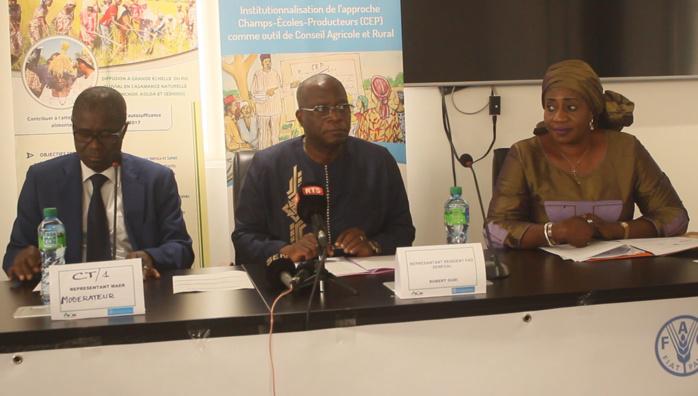 Agriculture/ANCAR : Vers l'intégration de l'approche Champ -École - Producteurs (CEP)  dans le dispositif du CARS
