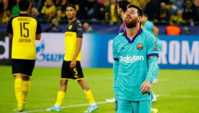 LDC / Phase de groupes : Le Barça s'en sort de justesse devant un Dortmund dominant (0-0).