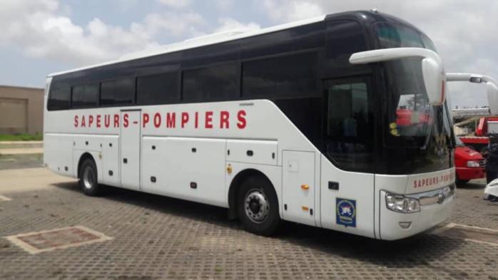 Logistique : Nouvelle dotation en véhicules et  matériel au profit de la Brigade Nationale des Sapeurs-pompiers