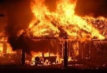 Grave incendie au marché de Kaolack