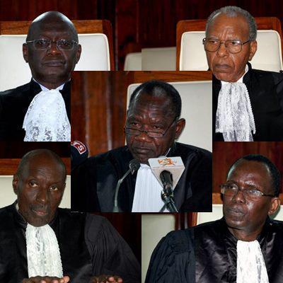 Le Conseil constitutionnel confirme sa première décision sur les candidatures