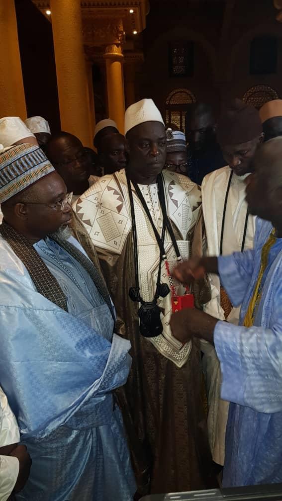 Inauguration « Massalikoul » : Le Khalife de Bambilor apporte son « adiya » au représentant du Khalife général des mourides à Dakar