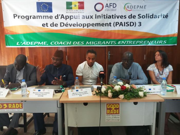 Offre de services adaptés aux entrepreneurs de la Diaspora : « 150 projets vont être accompagnés » (Dg Adepme)