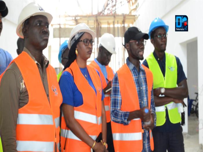"""Saint-Louis / Construction du centre de formation en tourisme : """"Le chantier a dépassé les 80%  de réalisation"""" (Sanoussi Diakité)"""