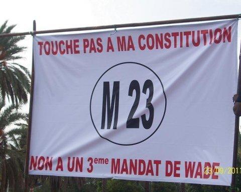 Pourquoi le M23 n'a pas déclaré à l'autorité sa manifestation de cet après-midi ?