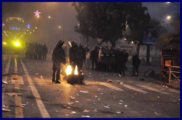 Les affrontements d'hier en images... L'apocalypse !