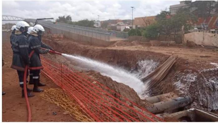 Dalifort : la SAR apporte des précisions sur l'origine du feu sur un de ses pipe-lines