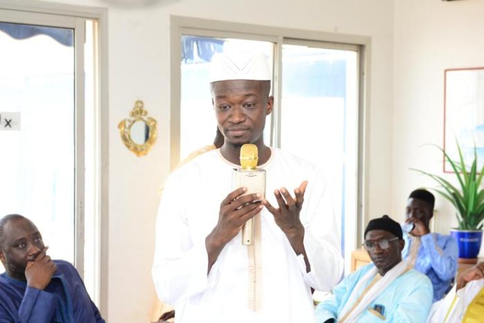 Les images du baptême du journaliste Moustapha Al Amine Fall à la clinique Madeleine.