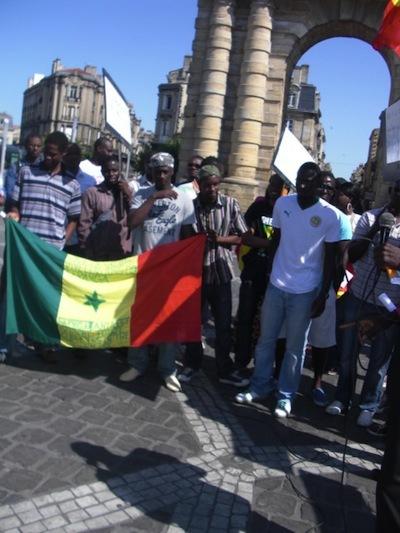 Dernière minute: le M23 occupe en ce moment le consulat général du Sénégal à Bordeaux