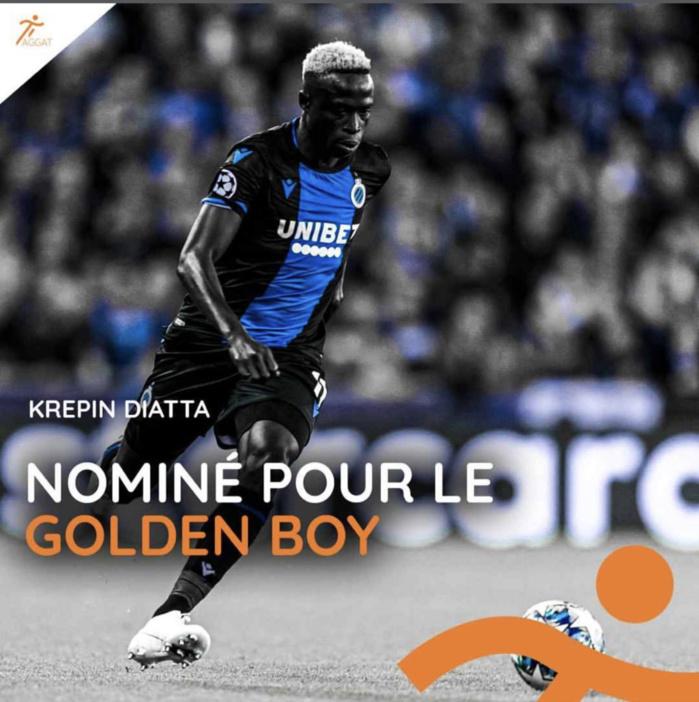 Golden Boy 2019 : Krépin Diatta parmi les nominés
