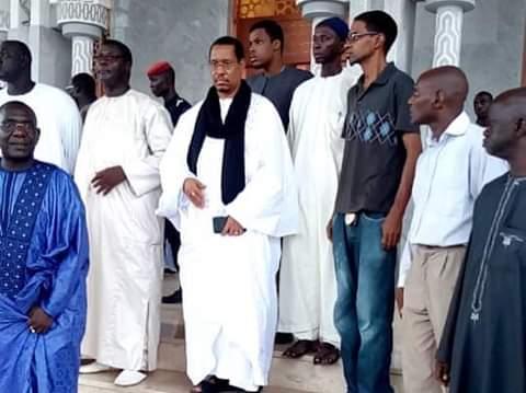 Inauguration de Massalikoul Jinane : Le guide de la communauté chiite à Dakar  à Colobane chez Serigne Mountakha Mbacké