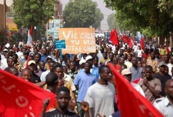 """Situation socio-politique : l'UNSAS """"prête pour un large front"""""""