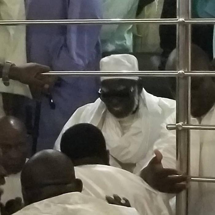 Keur Serigne Touba à Colobane:  Pape Aly Gueye PDG EXCELLEC reçu par le Khalife Serigne Mountakha Mbacke et son porte parole Serigne Bass Abdou Khadre