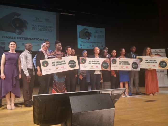 Grande finale de « Ma Thèse en 180 secondes » : Dakar était la capitale des Thésards de la Francophonie