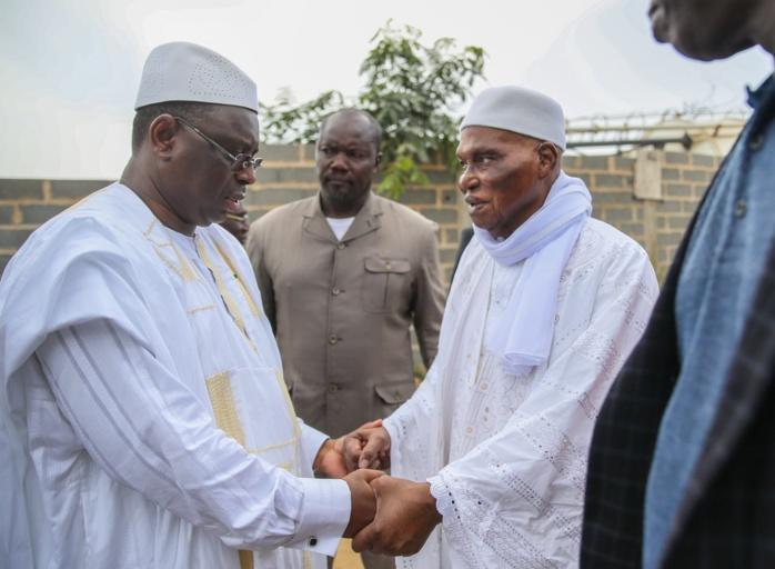 Réconciliation : Macky Sall dépose Abdoulaye Wade jusqu'à sa maison.