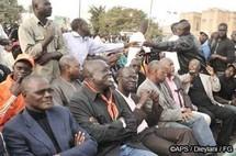 Les leaders du M23 les uns aux meetings des autres tout au long de la campagne