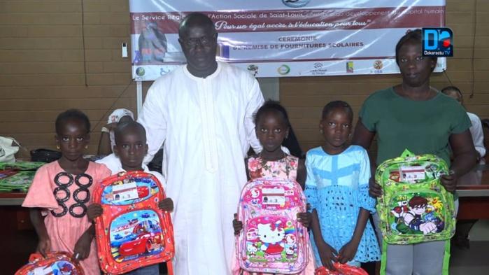 Saint-Louis : Remise de fournitures scolaires aux élèves issus des familles démunies