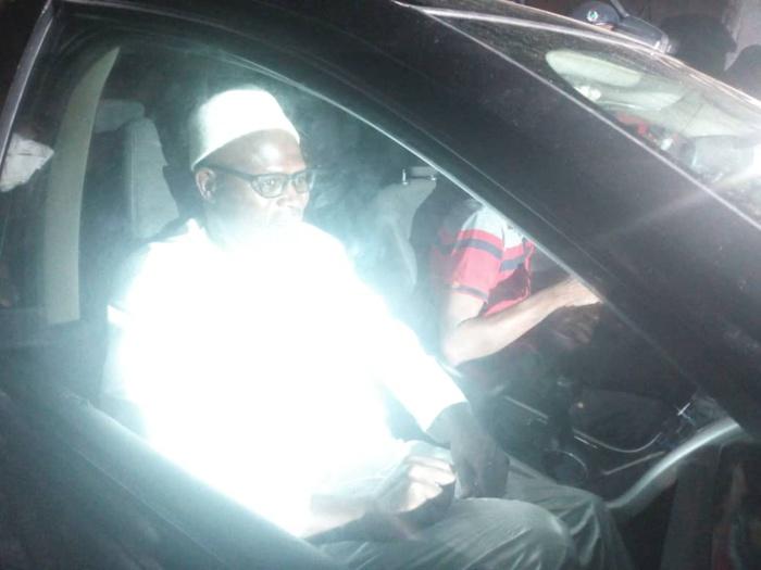 Urgent : Khalifa Sall vient de quitter la maison d'arrêt et de correction de Rebeuss