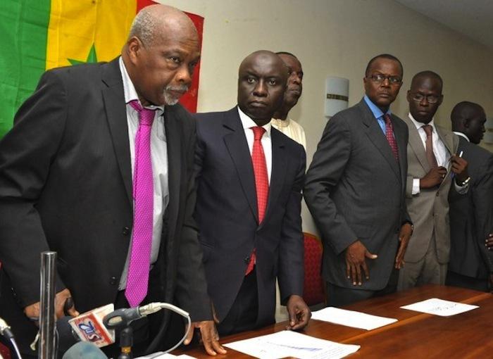Les candidats du M23 passent ensemble, à Dakar, les trois premiers jours de la campagne.