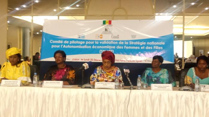Validation de la stratégie nationale pour l'autonomisation économique des femmes et des filles : Ndèye Saly Diop Dieng interpellée sur le problème de la formation des femmes dans certains domaines