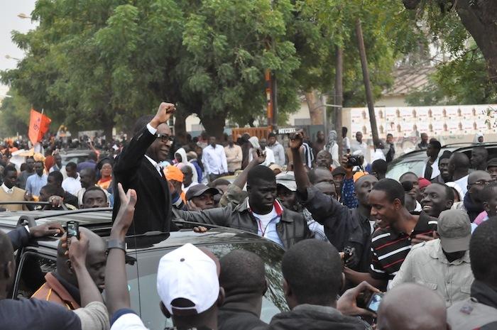 Revivez l'arrivée de Youssou Ndour à Place de l'Obélisque (PHOTOS )