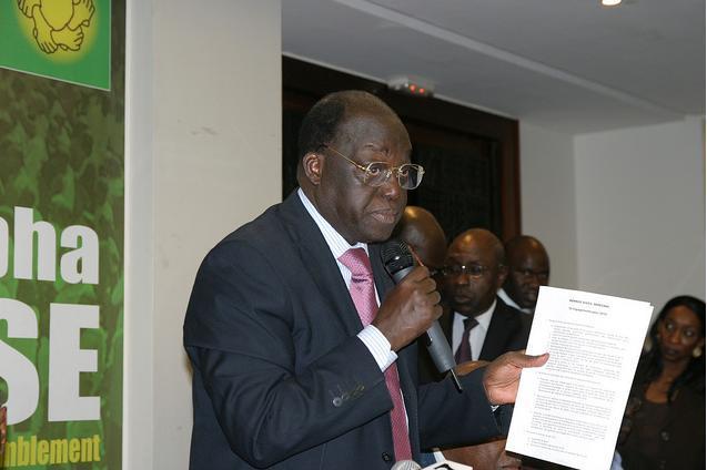 Devant les 49 partis et organisations de la société civile de sa coalition, Moustapha Niasse réaffirme sa volonté d'appliquer le programme des Assises nationales