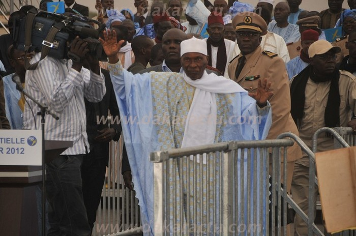 Revivez le meeting d'Abdoulaye Wade à Mbacké (PHOTOS)