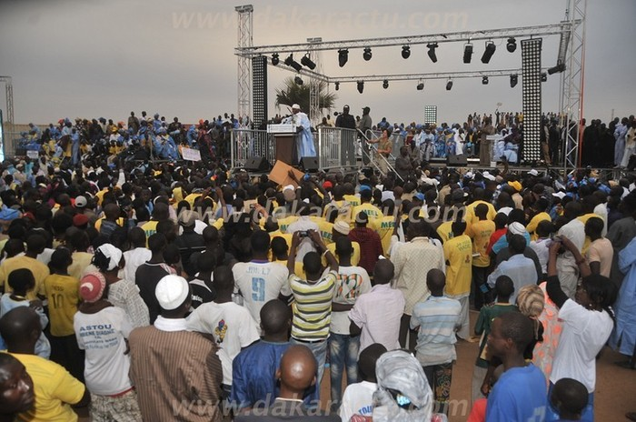 Revivez le meeting d'Abdoulaye Wade à Mbacké (PHOTOS)