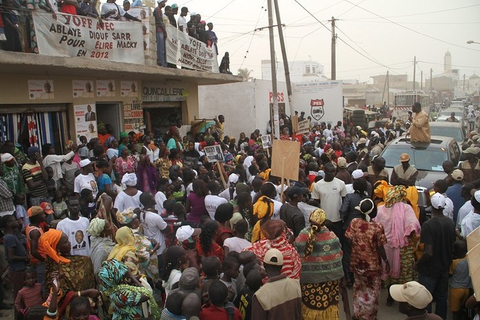 Images de la caravane de Macky Sall à Ouakam, Ngor et Yoff