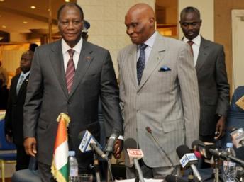 Selon Jeune Afrique, seul Ouattara soutient Wade