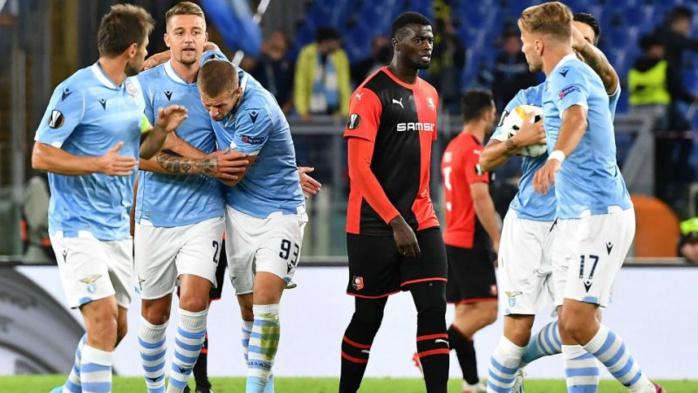 Ligue Europa : Rennes frustré et renversé sur le terrain de la Lazio Rome
