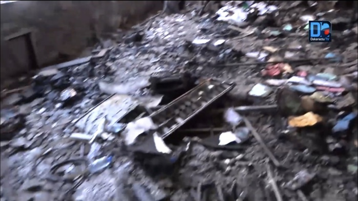 Incendie au Trésor Public : Comment les Sapeur-Pompiers ont maîtrisé le Feu.