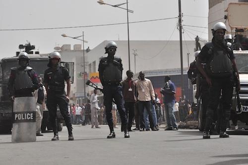 A quelques heures du meeting de Wade, Thiès bouclé par les forces de sécurité