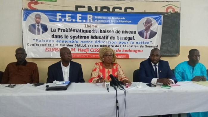 Problématique de la baisse de niveau du  système éducatif au Sénégal : Les enseignants et éducateurs de la République posent le débat.