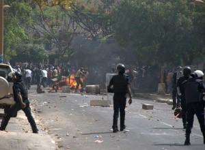 Dernière minute: la marche du M23 de Thiès a été dispersée par la police