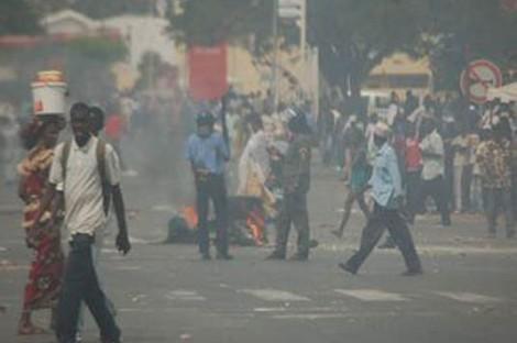 Les journalistes ont été brutalisés à Thiès par les forces de l'ordre