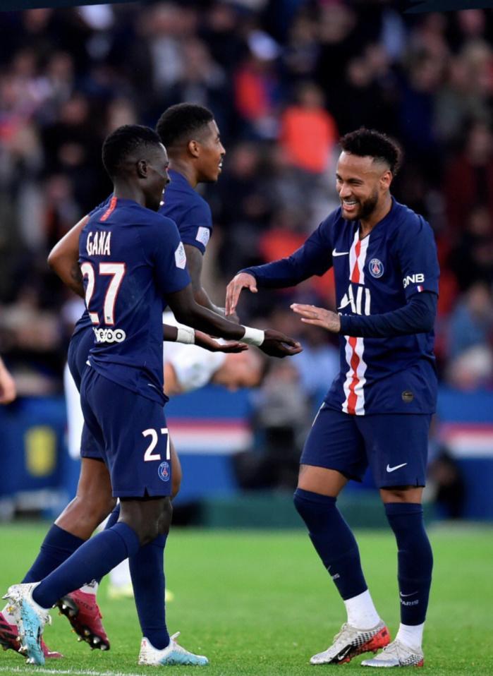 Ligue 1 : Gana Guèye marque son premier but avec le PSG face à Angers (4-0)
