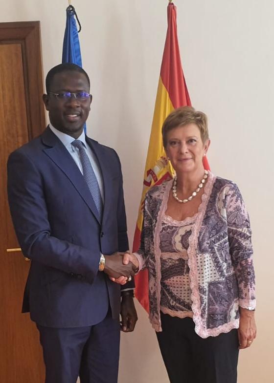 La gestion de la migration circulaire au centre de la visite du Secrétaire d'État Moïse Sarr, en Espagne.